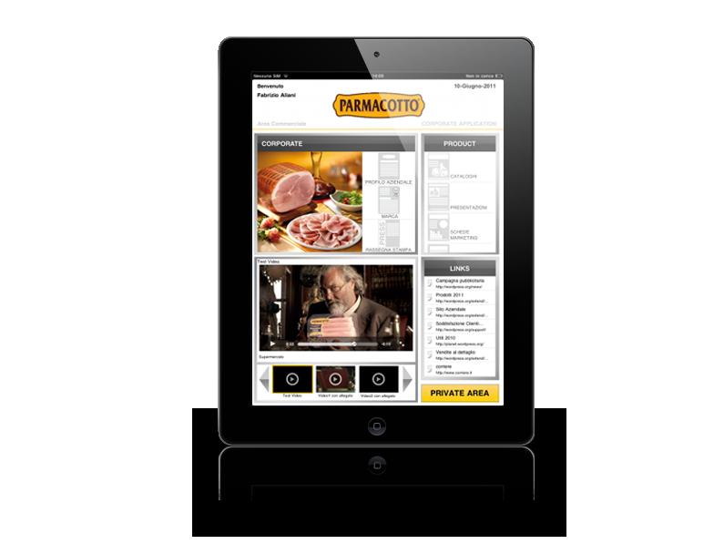 Parmacotto – applicazione per agenti di vendita